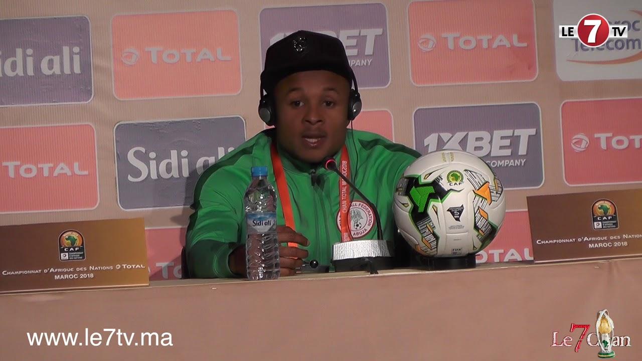"""Photo of الندوة الصحفية لمدرب منتخب نيجيريا للاعبين المحليين""""ساليسو يوسف"""" قبل مواجهة الأسود في نهائي """"الشان"""""""