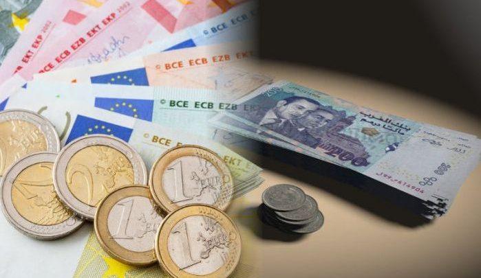 Photo of انخفاض الدرهم مقابل الأورو بـ 1,4 في المائة خلال شهر مارس الماضي