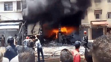 Photo of إندلاع حريق مهول داخل محل معروف بالقنيطرة