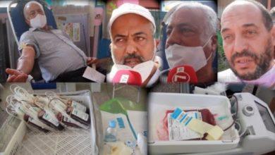 Photo of تفاعل كبير لساكنة مبروكة مع حملة التبرع بالدم التي نظمتها جمعية مختار السوسي