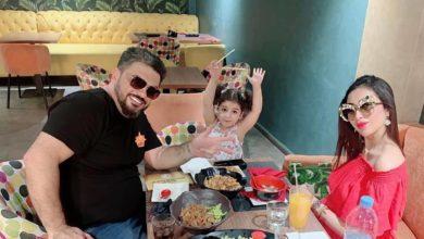 Photo of دنيا بطمة تنفي خبر خلافها مع زوجها محمد الترك